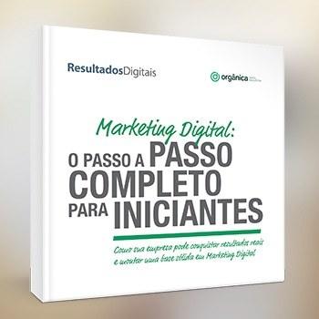 Kit com materiais essenciais de Marketing Digital